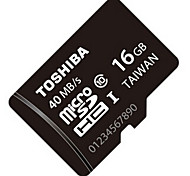 Original TOSHIBA 16GB Class10 UHS-1 Micro SDHC 40M/S High-Speed Memory Card