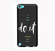 Do It Design Aluminum High Quality Case for iPod Touch 5