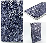 modelo retro de la flor caso maza suave para el mini iPad 3, iPad Mini 2, mini ipad