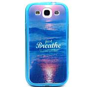 sunrise Meer Muster TPU Acryl weiche Tasche für Samsung-Galaxie S3 / S4-Galaxie / galaxy s5 / galaxy S6 / S6 Galaxie Rand
