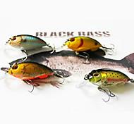 M&X Hard Bait Crank 73mm/50g 4Pcs Fish Hook Fishing Tackle Fishing Lure Set