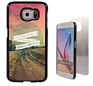 The End Design Aluminum High Quality Case for Samsung Galaxy S6 SM-G920F