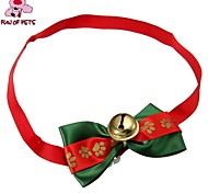 Dog Tie Spring/Fall - Red / Green - Wedding / Cosplay / Christmas - Nylon