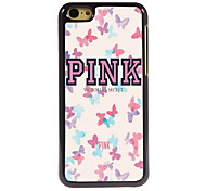Butterfly Design Aluminum High Quality Case for iPhone 5C