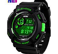 skmei® résistant montre sportive calendrier d'affichage numérique LCD / chronographe / alarme / l'eau des hommes
