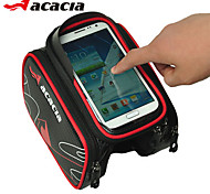 ACACIA Bicycle bag Frame Front Top Tube Bag Waterproof Outdoor Cycling Mountain Road Cycling Phone Pouch 5.5 inches