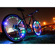 Bike Wheel Light, 2 Mode 400Lumens LED Light Bulbs Others Easy to Carry Cycling 50M Black,safety