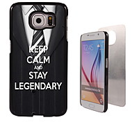 Keep Calm and Stay Legendary Design Aluminum High Quality Case for Samsung Galaxy S6 SM-G920F