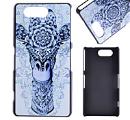 For Sony Case / Xperia Z3 Pattern Case Back Cover Case Animal Hard PC for SonySony Xperia Z3 / Sony Xperia Z3+ / Z4 / Sony Xperia Z3