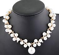 Elegant Pearl Necklace-1