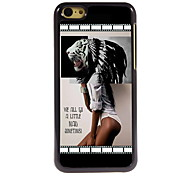 Girl Design Aluminum High Quality Case for iPhone 5C