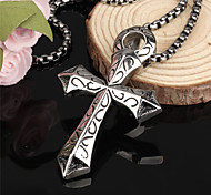 ailaicity®Stainless Steel Cross Man Necklace