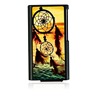 Fishing Net Leather Vein Pattern Hard Case for iPod Nano 7