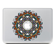 Circular Flower 16 Decorative Skin Sticker for MacBook Air/Pro/Pro with Retina Display