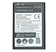 Mini smile™ Replacement Decoded High-Capacity 3.85V 3500mAh Li-ion Battery for LG G4 / H818 / BL-51YF
