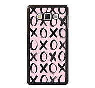 XOXOXO Design Aluminum High Quality Case for Samsung Galaxy A3/A5/A7/A8