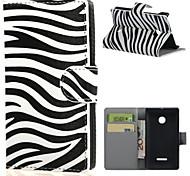 Назначение Кейс для Nokia Чехлы панели Кошелек Бумажник для карт со стендом Чехол Кейс для Черный и белый Твердый Искусственная кожа для