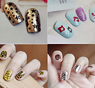 1PCS Nail Art Stamping/Stamper Image Template Plate Nail Stencils/Molds for Acrylic Nail Tips MLS Sery