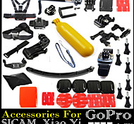 37pcs In 1 Gopro Accessories Mount / Smooth Frame / Straps / Bags/Case / Screw / Suction / Hand Grips / Adhesive For All Gopro / SJCAM
