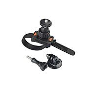 Sport Camera Zip Mount With Tripod Adapter Screw for GoPro Hero 4 3+ 3 2 1 Mount Helmet Bike Motorbike