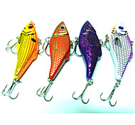 4pcs Hengjia Metal VIB Baits/Vibration  10.5g   70mm Lure Fishing