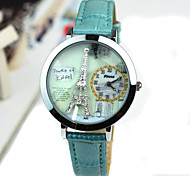 Women's Crystal Eiffel Tower Leisure Watch