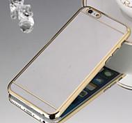 delgado teléfono materiales de chapado transparentes concha protectora escultura radio adecuado para iphone 6 más