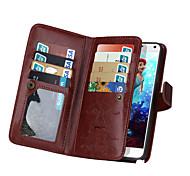 DE JI Wallet PU Leather Case For Samsung Galaxy Note 5/Note 4 With 9 Card Slot (Assorted Colors)