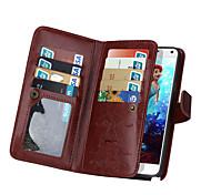 de ji Brieftasche PU-Leder Tasche für Samsung Galaxy Note 5 / Anmerkung 4 mit 9 Kartensteckplatz (verschiedene Farben)
