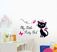 Multifunction DIY PVC Cat Princess Decorative Stickers