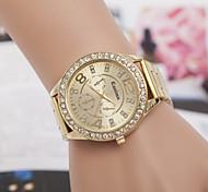 relojes de los hombres relojes relojes de diamantes de aleación de acero de la moda de cuarzo suizo