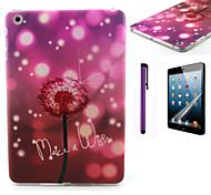 Make A Wish Dandelion Pattern TPU Soft Back Cover Case for iPad Mini 3/iPad Mini 2/iPad Mini