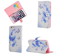 Butterfly Pattern With Diamond Phone Case For iPhone 6