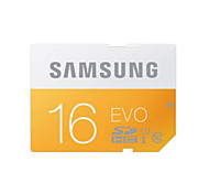 Samsung 16GB Class 10 SD/SDHC/SDXCMax Read Speed48 (MB/S)Max Write Speed48 (MB/S)