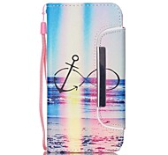 EFORCASE Rainbow 8 Split Lanyard Painted PU Phone Case for Galaxy S6 edge S6 S5 S4 S3 S5 mini S4 mini