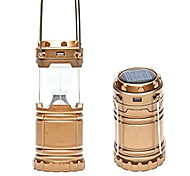 Solar Rechargeable LED Camping Lantern Emergency Cell Phone charger Brightest and Unique Hiking Lantern