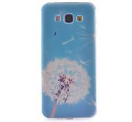 motif de pissenlit mince matériau TPU étui transparent de téléphone pour Samsung Galaxy a8 / A3 / A5 / A7
