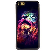 The Lion Look Up Design Aluminum High Quality Case for iPhone 5C