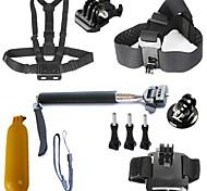 6-in-1 kit di accessori GoPro per GoPro Hero4 / 3 + / 3/2/1 sj4000 sjcam sj5000