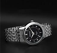 Aidu hochwertigen Stahlband Quarz-wasserdichte Uhr des neuen Menschen