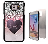 Pink Design Aluminum High Quality Case for Samsung Galaxy S6