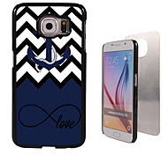 Love Design Aluminum High Quality Case for Samsung Galaxy S6