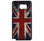 Union Jack Pattern PC Hard Case For Galaxy Note 5