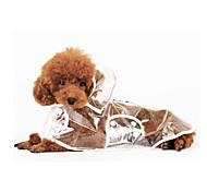 Blanco - A Prueba de Agua - Plástico - Impermeable - Perros -
