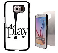 Let's Play Design Aluminum High Quality Case for Samsung Galaxy S6 Edge G925F