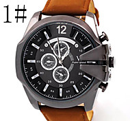 Men's Watches Large Dial Cool Belt Sport Watch