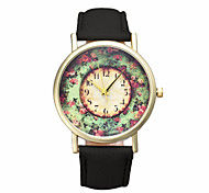 Gofuly Fashion Wholsale Design Women Dress Watches Quartz Watch Pastorale Floral Ladies Watch