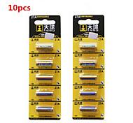 batteria alcalina 27a 10pcs 12v tianqiu per campanello senza fili / telecomando / allarme