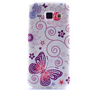 Butterfly Pattern TPU Phone Case for Samsung Galaxy Core Prime G360 /G357/G850/J1/530/355H