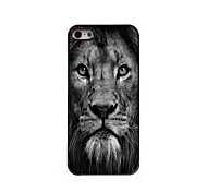 Lion Face Design Aluminum High Quality Case for iPhone 5/5S